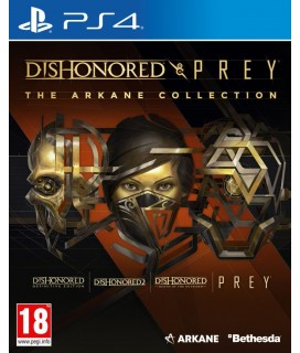 Dishonored and Prey: The Arkane Collection PS4 GAMES