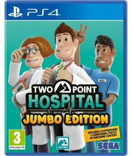 Two Point Hospital Jumbo Edition PS4 GAMES