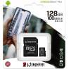 Kingston Canvas Select Plus R100 MicroSDXC 128GB UHS-I U1 + SD Adapter SDCS2/128GB