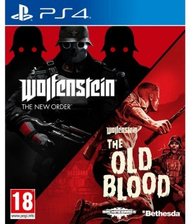 Wolfenstein The New Order and The Old Blood - Double Pack PS4 GAMES (CRD) 52129