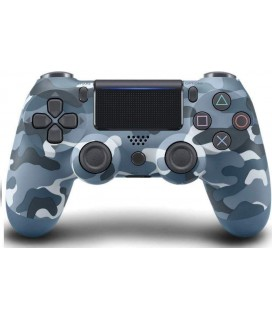Doubleshock Wireless Controller Camouflage Blue PS4