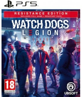 WATCH DOGS LEGION RESISTANCE SPECIAL DAY1 EDITION PS5 GAMES