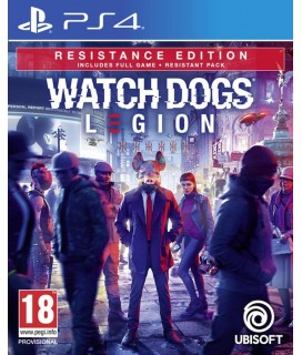 Watch Dogs: Legion Resistance Edition PS4 GAMES Used-Μεταχειρισμένο