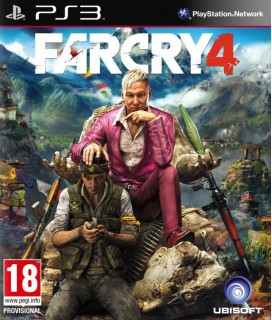 Far Cry 4 PS3 GAMES Used-Μεταχειρισμένο(BLES-02012)