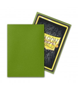 DRAGON SHIELD SMALL MATTE OLIVE SLEEVES 60CT