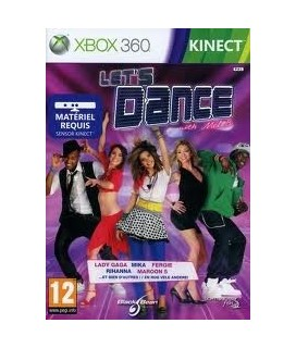 LETS DANCE WITH MEL B KINECT XBOX 360