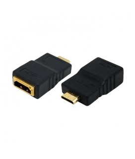 HDMI adaptor to mini HDMI Logilink AH0009-Μετατροπέας HDMI θηλυκο σε HDMI mini αρσ V1. 4