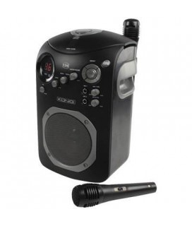 Σετ καραόκε με CD player HAV-KCD 11N KONIG KARAOKE SET WITH CD PLAYER