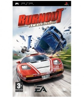 BURNOUT LEGENDS PSP GAMES USED- Μεταχειρισμένο