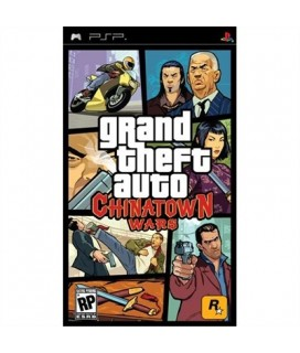 Grand Theft Auto: China Town Wars PSP GAMES