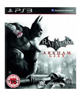 Batman Arkham City PS3 GAMES Used-Μεταχειρισμένο
