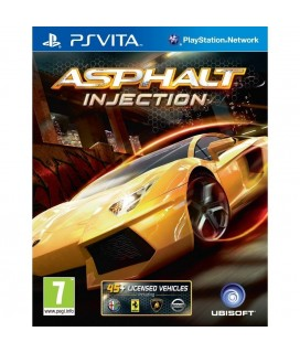 Asphalt: Injection - Ubisoft - (PSVita Game)