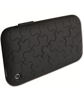 iphone 3G 3GS silicone case puzzle NILOX NX-02 θήκη σιλικόνης μαυρη