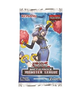 YGO: BATTLE PACK 3- MONSTER LEAGUE BOOSTER - Φακελάκι