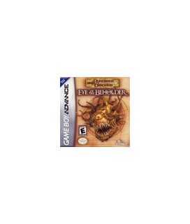 Dungeons and Dragons Eye of the Beholder GBA Μεταχειρισμένο