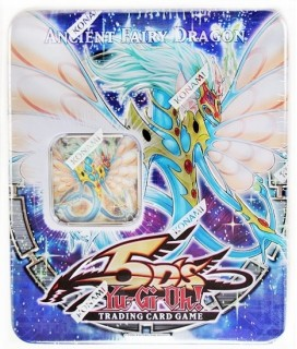Konami Yu-Gi-Oh 2009 Collectible Tins Wave 1 Ancient Fairy Dragon Tin Μεταλλικό κουτί συλλεκτικό