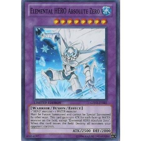 Elemental HERO Absolute Zero Super Rare Yu-Gi-Oh