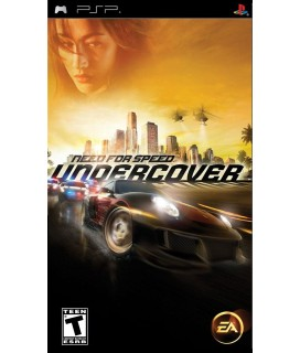 Need for Speed Undercover - PSP Game Used-Μεταχειρισμένο