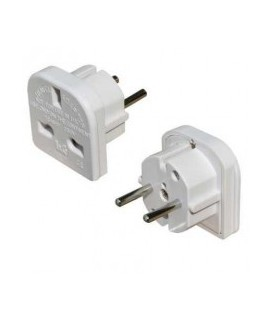 Universal adapter American English and others. Standard to Europe standard 220V