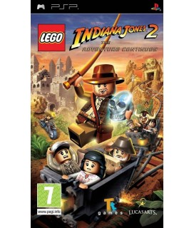 LEGO Indiana Jones 2: The Adventure Continues - Essentials - PSP
