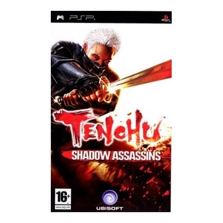 Tenchu Shadow Assassins PSP GAMES