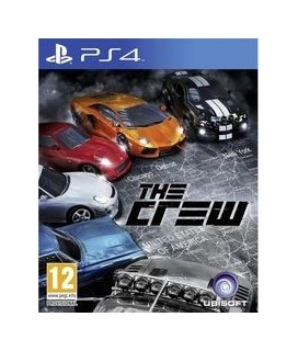 THE CREW PS4 GAMES