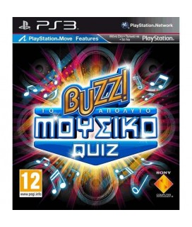 BUZZ THE ULTIMATE MUSIC QUIZ GREEK PS3 GAMES Μεταχειρισμένο-Used
