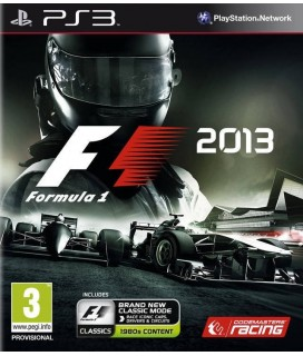 F1 2013 PS3 GAMES Used-Μεταχειρισμένο