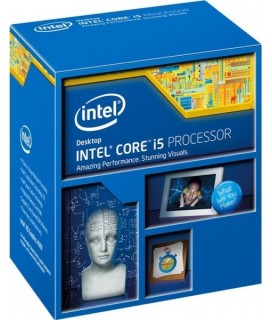 Intel Core i5-4670K (6MB Cache, 3:40 GHz Turbo 3.80 GHz) Boxed - Socket 1150