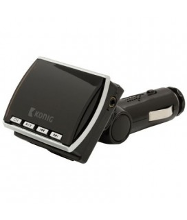 CSFM TRANS 100BL FM transmitter black with remote KONIG