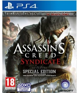Assassins Creed Syndicate Special Ed. PS4 GAMES