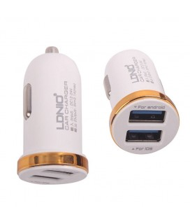Φορτιστής USB Αυτοκινήτου LDNIO Brand DL-C22 Two USB Mini Usb Car Charger For Most Smart Phones And Tablets Charger