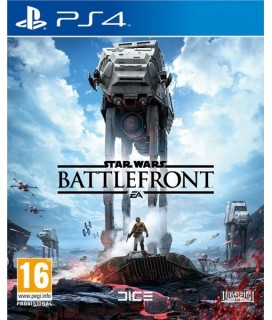 Star Wars Battlefront + Battle of Jakku PS4 GAMES Used-Μεταχειρισμένο