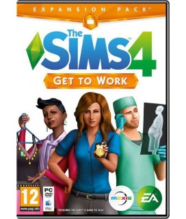 The Sims 4 Get To Work Expansion Pack PC GAMES