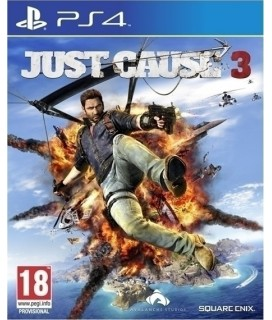 Just Cause 3 D1 Rocket Launcher Edition PS4 GAMES Used-Μεταχειρισμένο