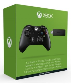 Microsoft XBOX One Wireless Controller + Wireless Adapter for Windows
