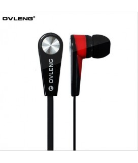 Ovleng Ακουστικά IP730 με Μικρόφωνο Ovleng IP730 for smartphone with a microphone, Audio, Black