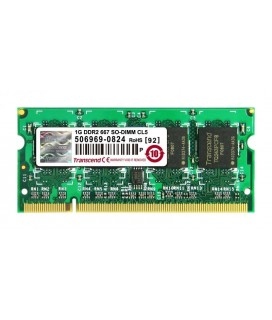 TRANSCEND JM667QSU-1G 1GB SO-DIMM DDR2 PC2-5400 667MHZ Μνήμη για Laptop Used-Μεταχειρισμένη