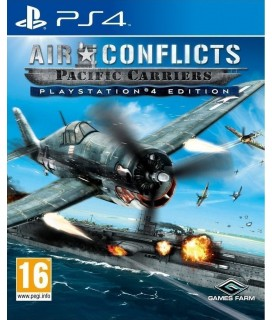 Air Conflicts Pacific Carriers Playstation 4 Edition PS4 GAMES