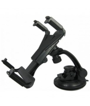 "Stand for tablet with vacuum 8"" tо 14"", DeTech βάση αυτοκινήτου με βεντούζα"