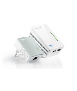 Tp-Link AV500 WiFi Extender Starter TL-WPA4220 Kit Powerline