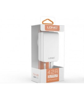 Network charger Ldnio DL-AC62, 5V/4.2A, with 4 USB port, Universal