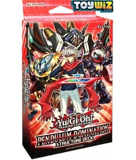 Yu-Gi-Oh Pendulum Domination Stracture Deck Τράπουλα