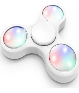 2nd Gen Fidget Spinner with LED Lights Toy Stress Reducer – Μαύρο 3 σκάλες φωτισμού led