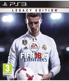 FIFA 18 Legacy Edition Game PS3