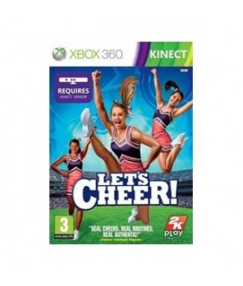 LET'S CHEER KINECT XBOX 360