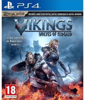 Vikings Wolves of Midgard - Limited Special Edition (PS4) GAMES
