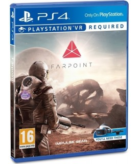 Sony VR Farpoint Standard Edition Game PS4 GAMES