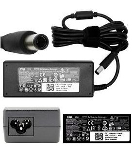 Φορτιστής γνήσιος Dell Inspiron 17R Series 90W 19.5V 1.5A Y4M8K AC Power Adapter Charger.