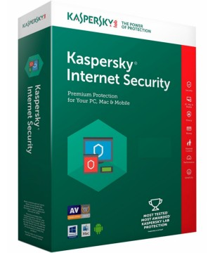 KASPERSKY Internet Security multi-device Retail Box για 3 PC Ελληνικό